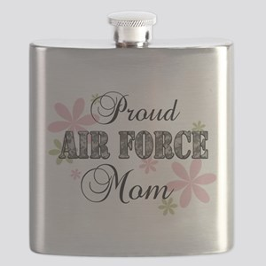 Air Force Mom [fl camo] Flask